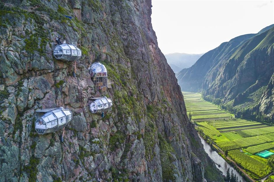 11 Skylodge Adventure Suites, thung lũng Sacred, Peru.jpg