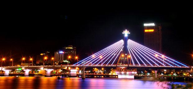 Cầu Quay Sông Hàn và Cầu Rồng